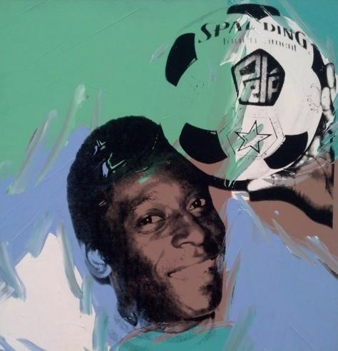 Andy Warhol 'Pele', 1978