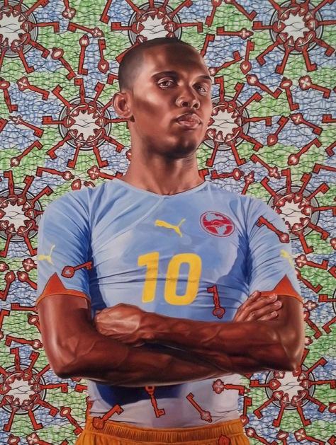 Kehinde Wiley 'Samuel Eto'o', 2010
