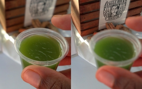 Healthy shots. Eagle Rock Juice Co. [1565 Colorado Blvd, Los Angeles, CA 90041]