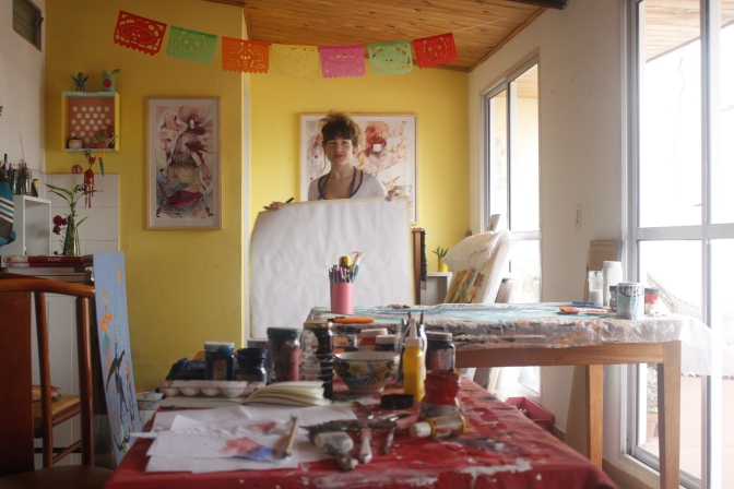 Art Of The World: Peek Inside The Studio of Argentine Artist, Estela Cuadro